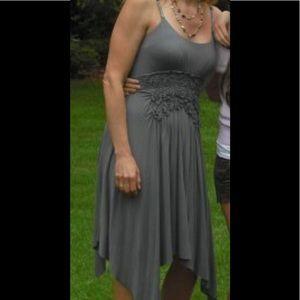 Bailey 44 grey bra strap dress